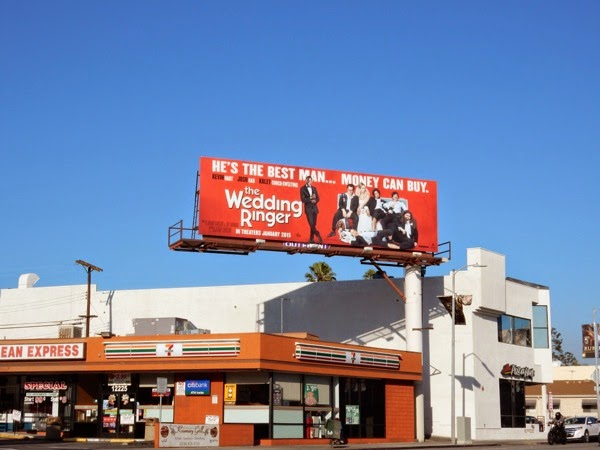 Wedding Ringer movie billboard