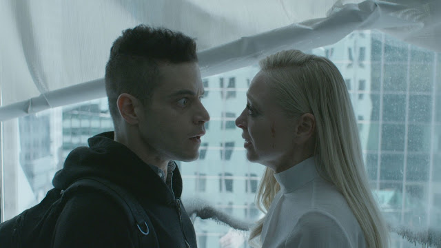 "Rami Malek and Portia Doubleday in ""Mr. Robot"""
