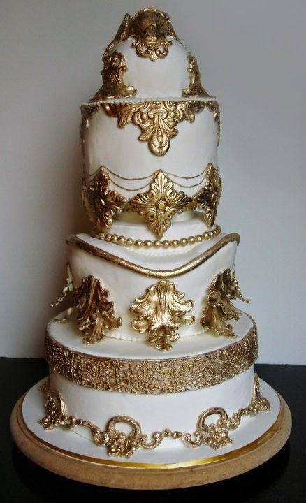 Beauty And The Beast Wedding Cake