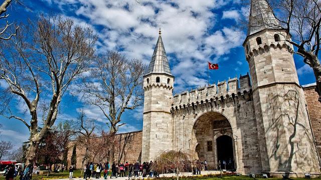 Portão da Saudação do Palácio de Topkapi