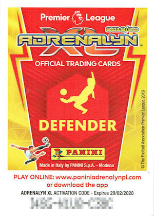 Modena Dog Calendario 2020.Football Cartophilic Info Exchange Panini Adrenalyn Xl