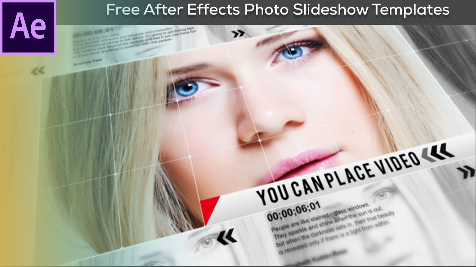 Free After Effects Photo Slideshow Templates - After Effects Template Free Download