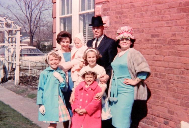 A Vintage Nerd, Vintage Blog, 1960s Easter Fashion, Vintage Photography, Vintage Easter Outfits