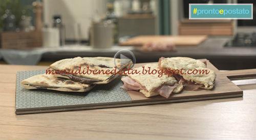Pronto e postato - Testo dolce con crema di nocciole o salumi ricetta Benedetta Parodi