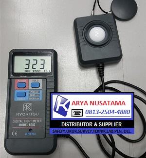 Jual Kyoritsu 5202 Digital Lux Meter di Samarinda
