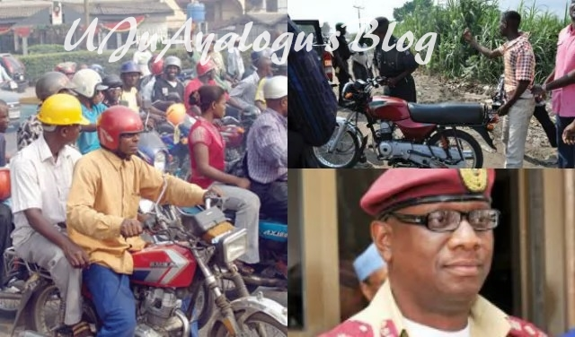 FRSC recommends nationwide ban on commercial motorcycles