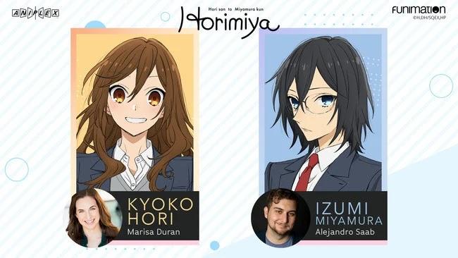 Horimiya dub english