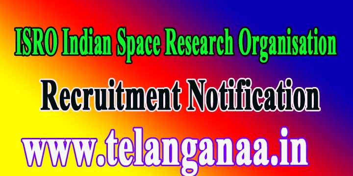 ISRO Indian Space Research Organisation SHAR SDSC Recruitment Notification 2016