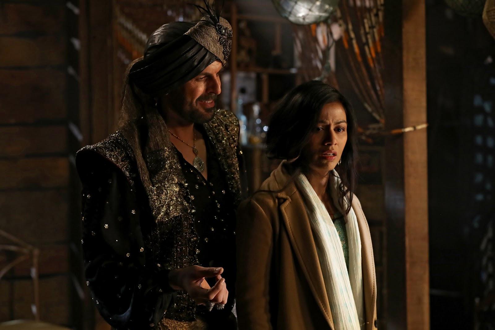 Jafar le cuenta a Jasmine la verdad sobre Agrabah en Once Upon a Time