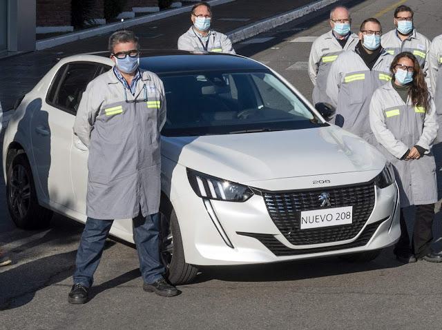 Novo Peugeot 208 começa a ser produzido na Argentina