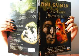 Sandman - Noites Sem Fim   Álbum em Quadrinhos
