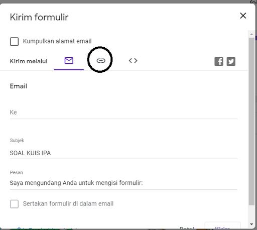 Cara Membagikan Link Google Formulir Sebuah Tutorial