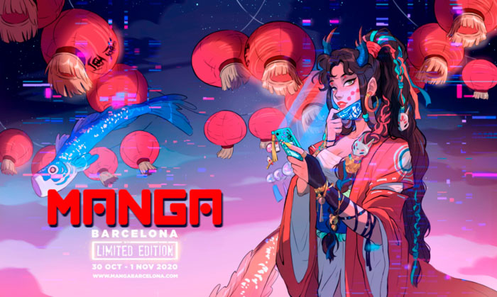 Manga Barcelona Limited Edition - cartel