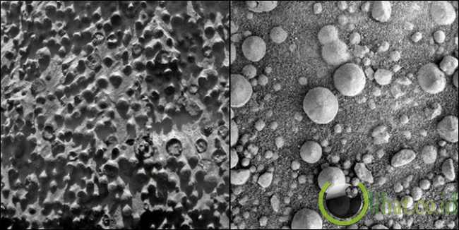 Benjolan di Planet Mars