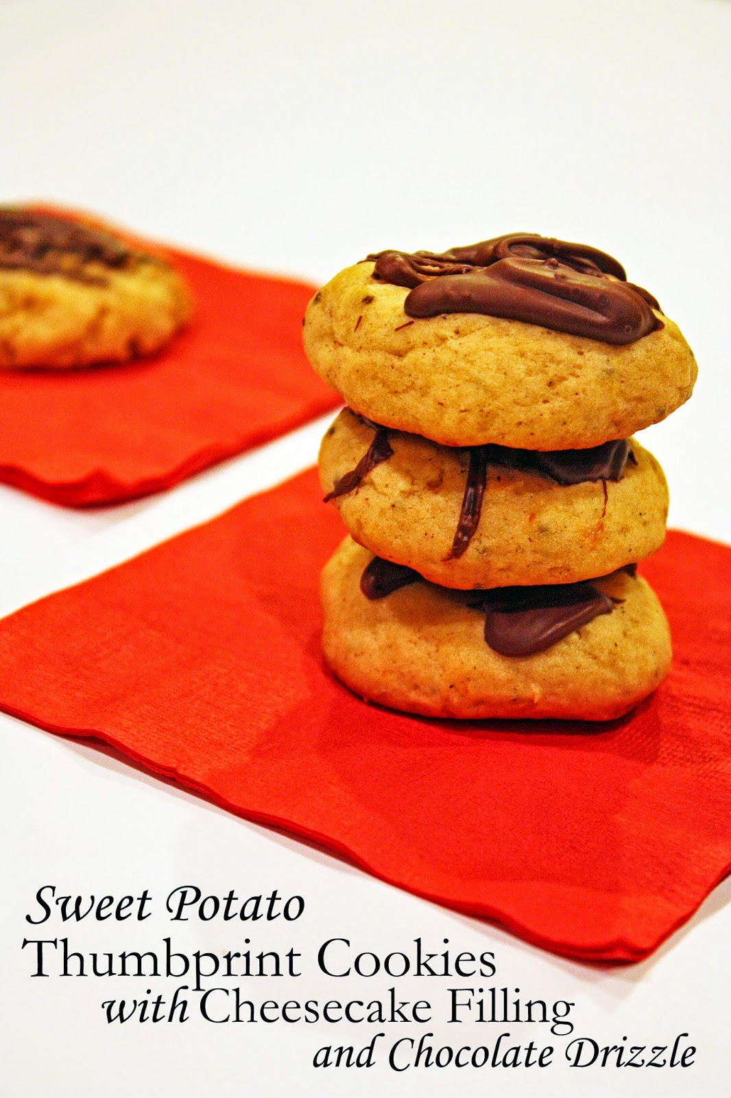 chocolate sweet potato cookies