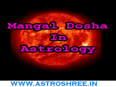 mangal dosha solution by astrologer