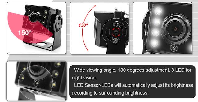 7 inch Car Display AV Car Monitor Portable Display support PAL / NTSC Video Input With Car Camera Driving recorder Car player