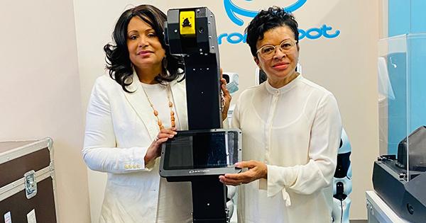 Lynda Dorman and Carolyn Howell, founders of Orange Wall Enterprises