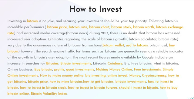 {filename}-Btc Online Investment Making Small, Fast, Secured And High Returns