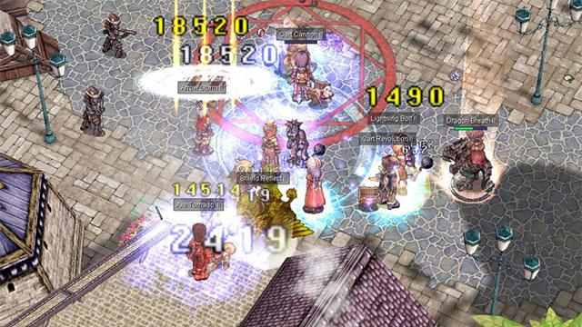 gameplay ragnarok online