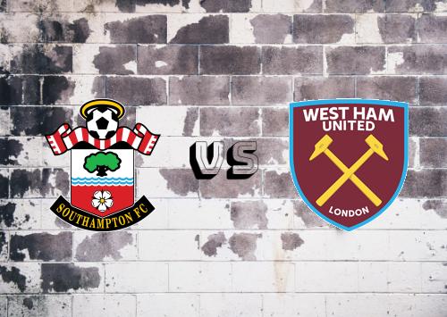 Southampton vs West Ham United  Resumen