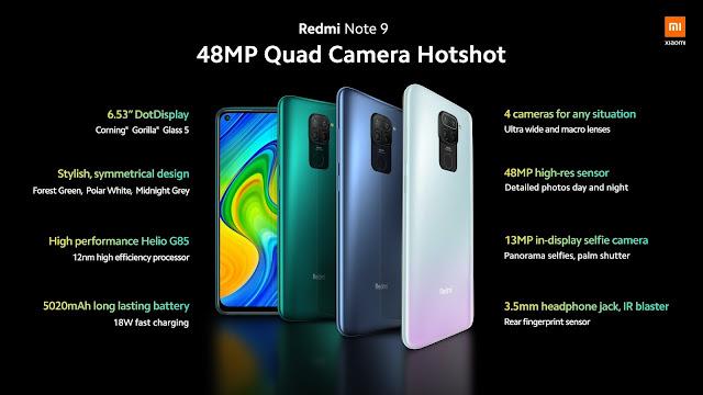 आ गया Redmi Note 9 स्मार्टफोन, बहुत कम है इसकी कीमत