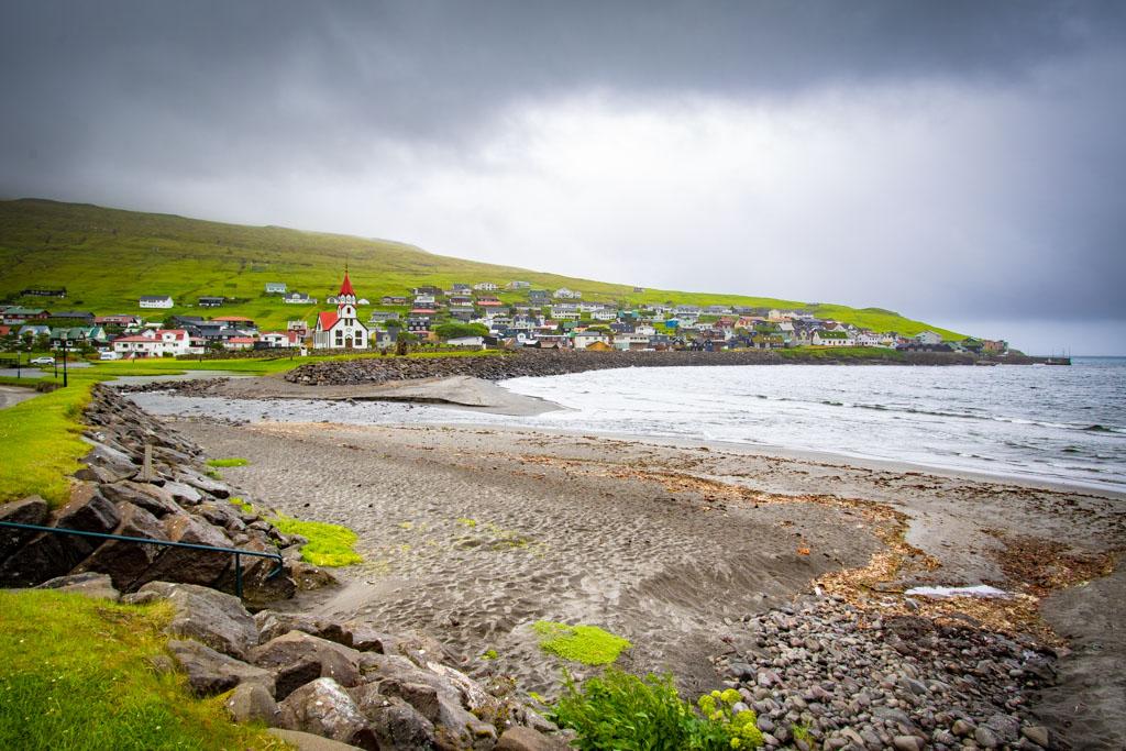 Chiesa di Sandavágur-Isole Faroe