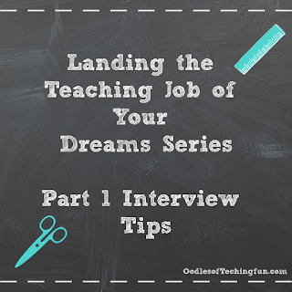 Teaching Job, Interview tips, interview questions