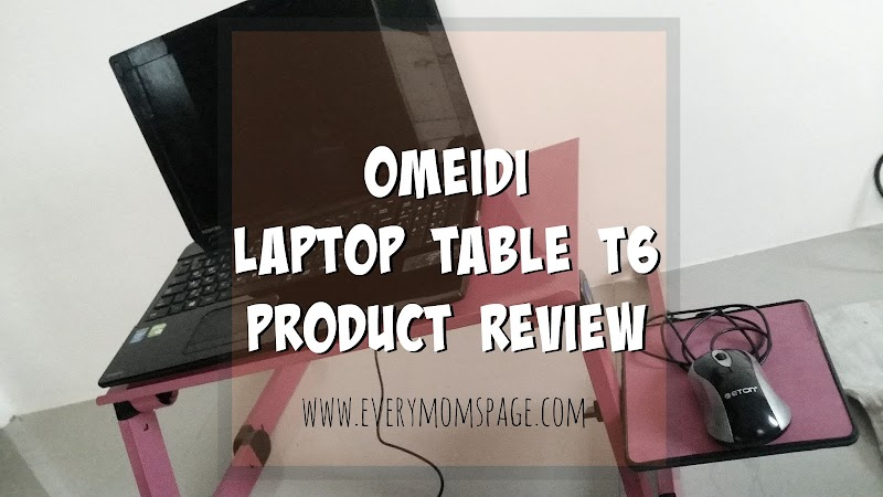 #ProductReview: Omeidi Laptop Table T6