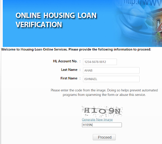 Pag-IBIG Online Housing Loan Verification