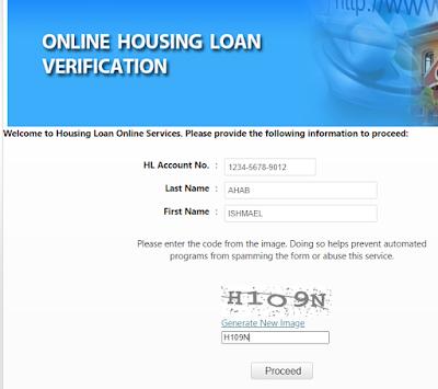 Pag-IBIG Online Housing Loan Verification