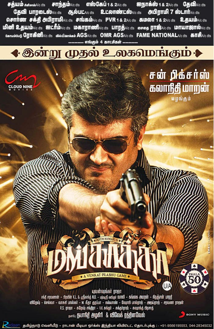 Ajith Kumar Hd Wallpaper Mankatha Ajith Kumar 2011 Movie Lovers