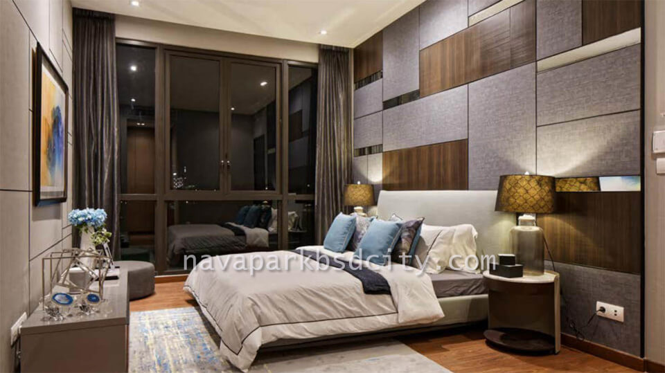 Contoh Interior Design Master Bedroom Tipe 10 Lakewood NavaPark