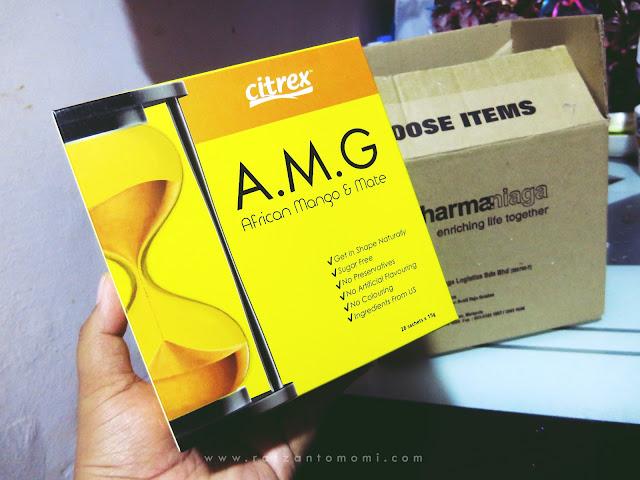 Citrex A.M.G - Membantu Mengurangkan Berat Badan Ideal