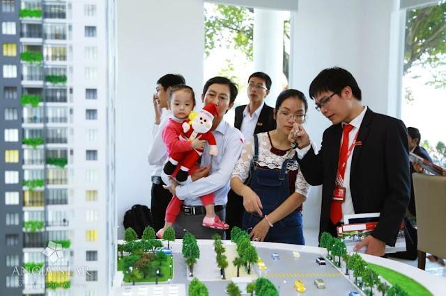 Khách hàng mua bất động sản