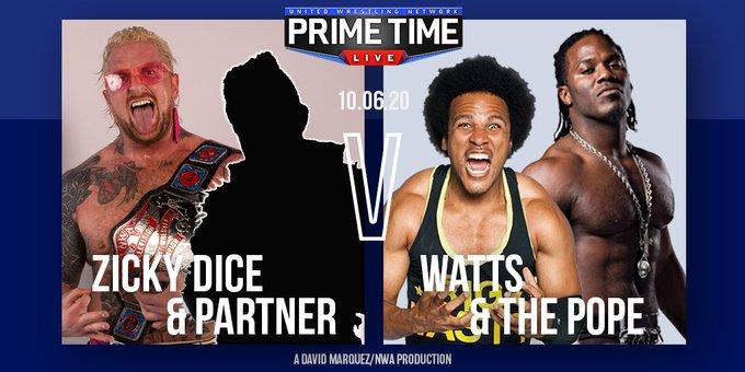 Cobertura: UWN Prime Time Live (06/10/2020) – Estreias de peso!