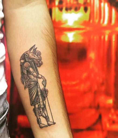110+ Egyptian Anubis Tattoos For Men (2019) Tribal Designs   Tattoo