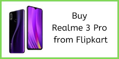 Buy Realme 3 Pro Smartphone from Flipkart Store