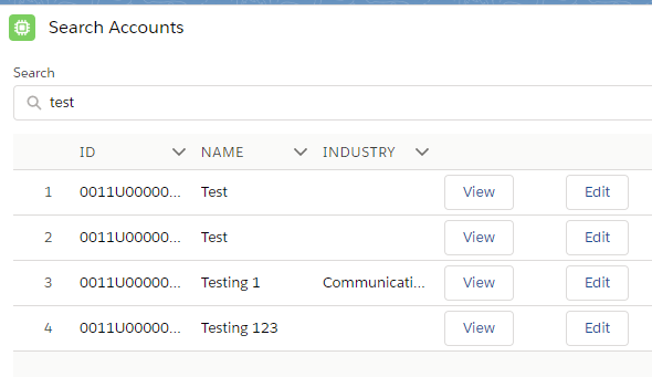 Infallible Techie: lightning:datatable with buttons in