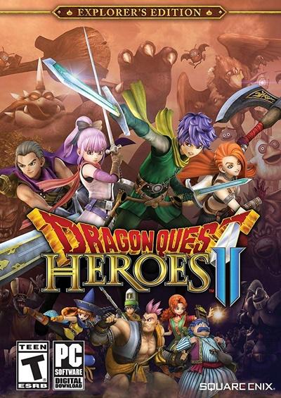 โหลดเกมส์ DRAGON QUEST HEROES II