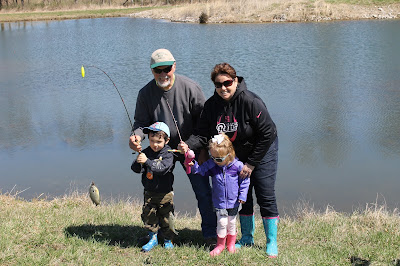 The Voss Family at Wetlands for Kids Day