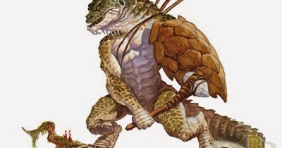 All Things Gaming: 5th Edition Monstrous PCs: Lizardfolk