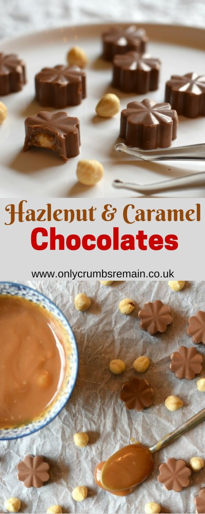 How to make Hazelnut & Caramel Chocolates at home