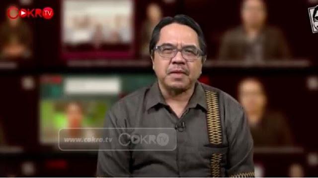 Ade Armando Singgung SJW dan Kadrun, Tim Kawal COVID-19: Manusia Mubazir