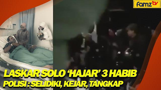 Laskar Solo Bubarkan Acara Nikahan Keluarga Almarhum Habib Segaf Al-Jufri, 3 Habib Dipukuli