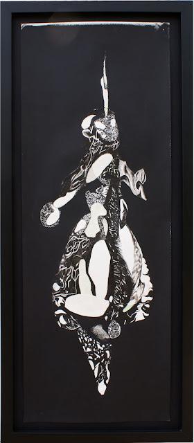 """Nelleke de Noo : Tree-Creature 4 , exposition """"d'Inspiration Jérôme Bosch"""", Galerie de la Marraine"""