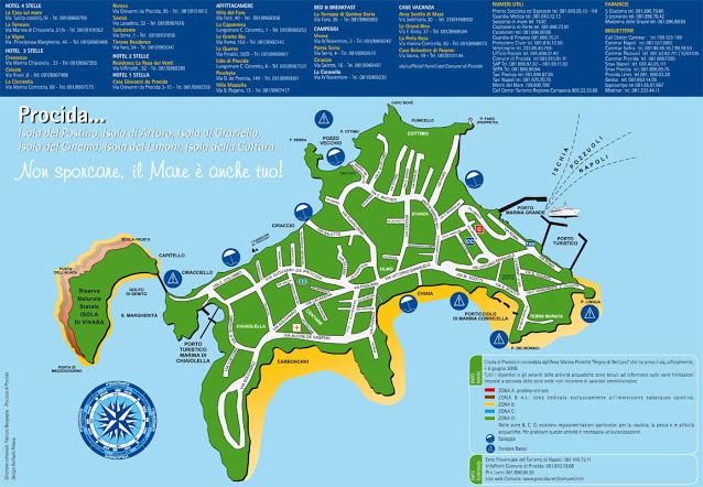 Mappa di Procida