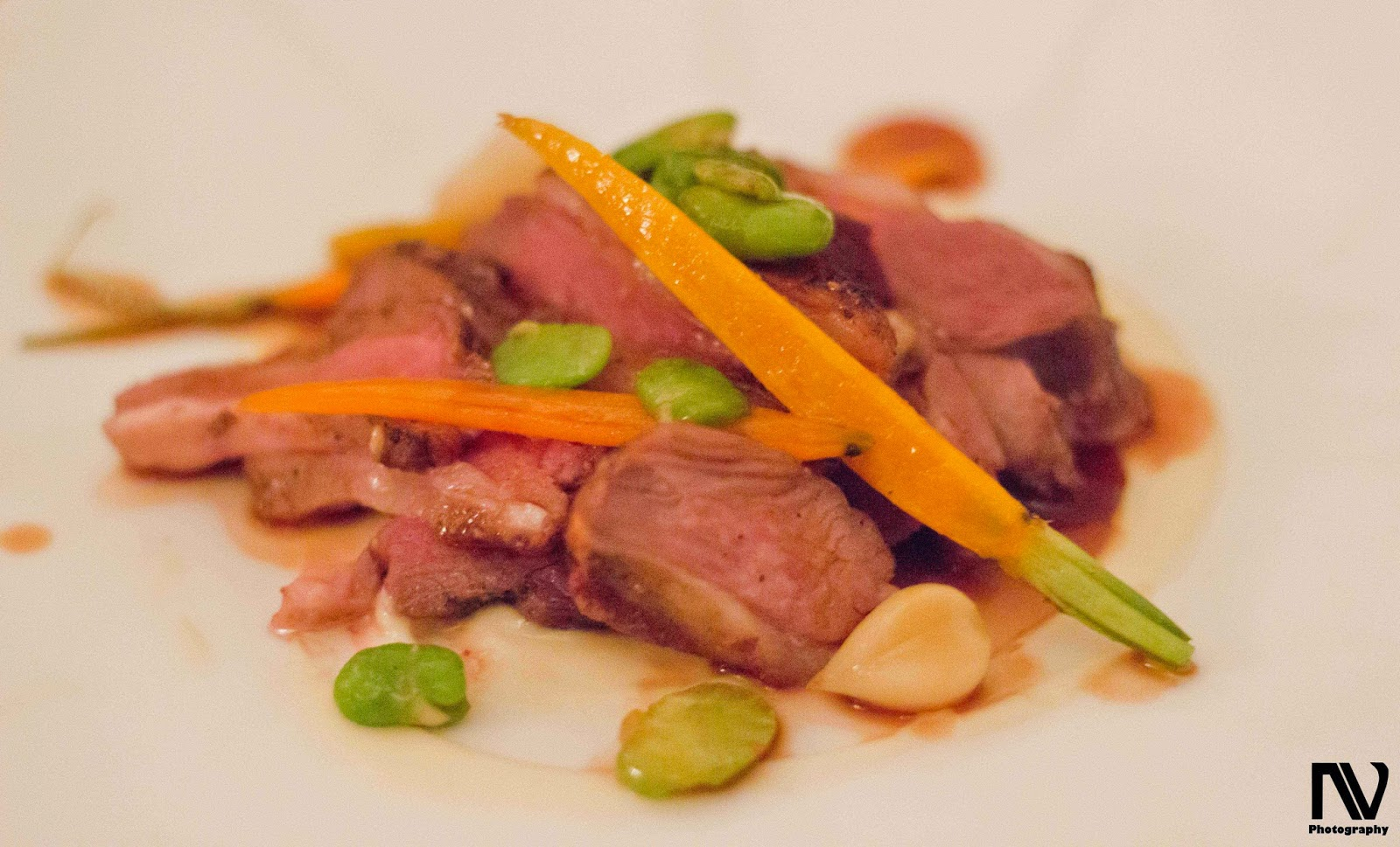 Lamb Rump with Roasted Baby Vegetables