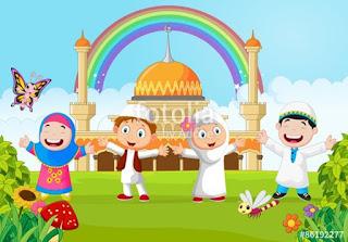 Gambar Kartun Masjid Cantik dan Lucu 201721