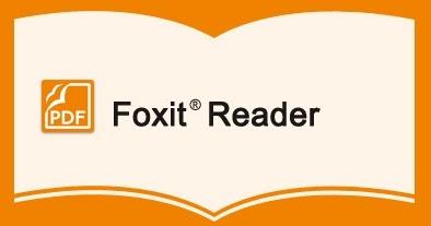 برنامج تحميل كتب الكترونية Foxit Reader 2019